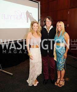 Kim Helfgott,Dennis Roche,Dawn Johnson,2013 DC Style Fashion Show,May  19,2013,Kyle  Samperton