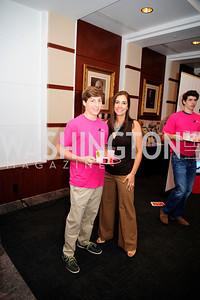Blake Dannenbaum,Paige McKenzie.May  19,2013, 2013 DC Style Fashion Show,Kyle  Samperton
