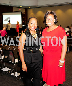 Patricia Hill-Davidson,Jenine Jones,2013 DC Style Fashion Show,May  19,2013,Kyle  Samperton