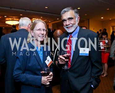 Holly Doremus, Award Recipient John Leshy. Photo by Tony Powell. Defenders of Wildlife Conservation Awards Dinner. Capitol Hilton. September 19, 2013