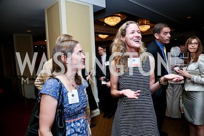 Meg Van Achtenberg, Cassie Carroll. Photo by Tony Powell. Defenders of Wildlife Conservation Awards Dinner. Capitol Hilton. September 19, 2013
