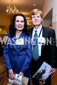 Dianna Paulsen, Joseph Fox. Photo by Tony Powell. Defenders of Wildlife Conservation Awards Dinner. Capitol Hilton. September 19, 2013