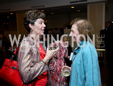 Julie Falkner, Lois Schiffer. Photo by Tony Powell. Defenders of Wildlife Conservation Awards Dinner. Capitol Hilton.JPG