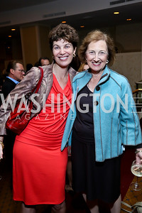 Julie Falkner, Lois Schiffer. Photo by Tony Powell. Defenders of Wildlife Conservation Awards Dinner. Capitol Hilton. September 19, 2013