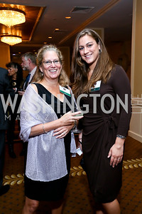 Sarah Shrewsbury, Caitlin Kelly. Photo by Tony Powell. Defenders of Wildlife Conservation Awards Dinner. Capitol Hilton. September 19, 2013