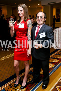 Brittany Glenn, Joseph Logan. Photo by Tony Powell. Defenders of Wildlife Conservation Awards Dinner. Capitol Hilton. September 19, 2013