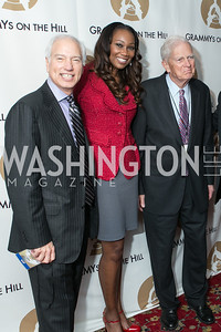 Pat Collins, Yolanda Adams, Dr. James Billington. 2013 GRAMMYs on the Hill Awards. The Hamilton. April 17, 2013.