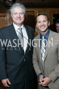 Daniel Hill, Rep. Aaron Schock. 2013 GRAMMYs on the Hill Awards. The Hamilton. April 17, 2013.