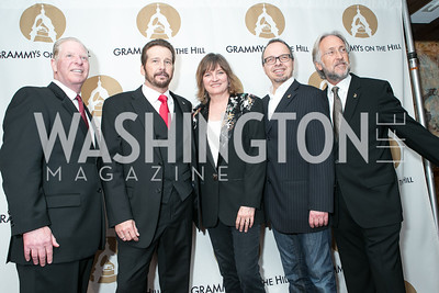 Pat Collins, George Flanigan, Christine Albert, Glenn Lorbecki, Neil Portnow. 2013 GRAMMYs on the Hill Awards. The Hamilton. April 17, 2013