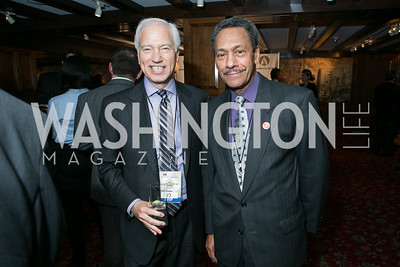 Cary Sherman, Rep. Melvin L. Watt. 2013 GRAMMYs on the Hill Awards. The Hamilton. April 17, 2013.