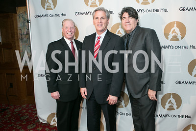 Pat Collins, Rep. Kevin McCarthy, Darrell Brown. 2013 GRAMMYs on the Hill Awards. The Hamilton. April 17, 2013.