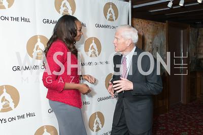 Yolanda Adams, Dr. James Billington. 2013 GRAMMYs on the Hill Awards. The Hamilton. April 17, 2013.
