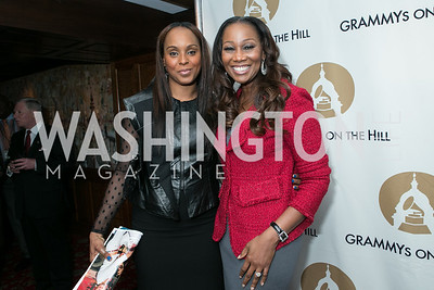 Angela Hunte, Yolanda Adams. 2013 GRAMMYs on the Hill Awards. The Hamilton. April 17, 2013.