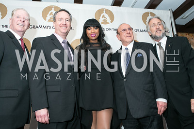 Pat Collins, Daryl Friedman, Jennifer Hudson, Clive Davis, Neil Portnow. 2013 GRAMMYs on the Hill Awards. The Hamilton. April 17, 2013