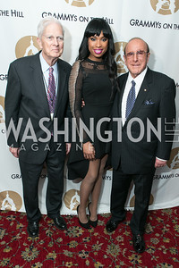 Dr. James Billington, Jennifer Hudson, Clive Davis. 2013 GRAMMYs on the Hill Awards. The Hamilton. April 17, 2013