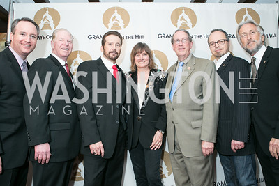 Daryl Friedman, Pat Collins, George Flanigan, Christine Albert, Glenn Lorbecki, Neil Portnow. 2013 GRAMMYs on the Hill Awards. The Hamilton. April 17, 2013