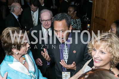Rep. Nancy Pelosi, Rep.  Howard Coble, Rep. Mel Watt, Terrie Bjorklund. 2013 GRAMMYs on the Hill Awards. The Hamilton. April 17, 2013.