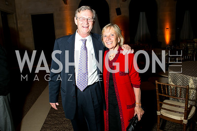Bill Magee, Kathy Magee. Photo by Alfredo Flores. 2013 Grin Gala. U.S. Chamber of Commerce. May 11, 2013