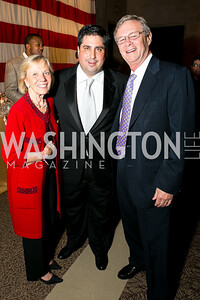 Bill Magee, Clint Wheeler, Kathy Magee. Photo by Alfredo Flores. 2013 Grin Gala. U.S. Chamber of Commerce. May 11, 2013