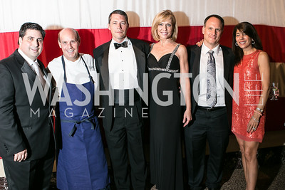 Clint Wheeler, Todd Gray, Scott Spear, Anita Brikman, Ray Kimsey, Emily Wheeler. Photo by Alfredo Flores. 2013 Grin Gala. U.S. Chamber of Commerce. May 11, 2013