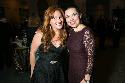 Morgan Foster, Bridget Morris. Photo by Alfredo Flores. 2013 Grin Gala. U.S. Chamber of Commerce. May 11, 2013