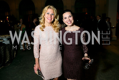 Alisha Waid, Morgan Foster. Photo by Alfredo Flores. 2013 Grin Gala. U.S. Chamber of Commerce. May 11, 2013