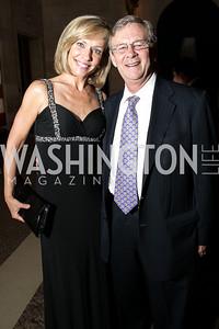 Anita Brikman, Bill Magee. Photo by Alfredo Flores. 2013 Grin Gala. U.S. Chamber of Commerce. May 11, 2013