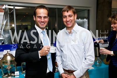 Aaron Radelet, Google's Matt Yalowitz. Photo by Tony Powell. 2013 HRC Gala Corporate Sponsor Appreciation Breakfast. May 8, 2013