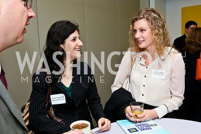 Baker & McKenzie's Parisa Manteghi, Carolyn Wright. Photo by Tony Powell. 2013 HRC Gala Corporate Sponsor Appreciation Breakfast. May 8, 2013