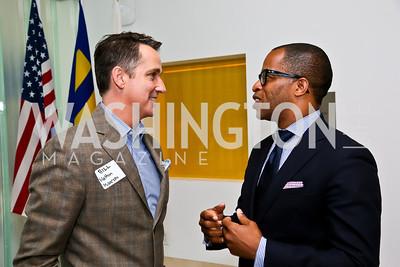 Bill Kapfer, Jonathan Capehart. Photo by Tony Powell. 2013 HRC Gala Corporate Sponsor Appreciation Breakfast. May 8, 2013