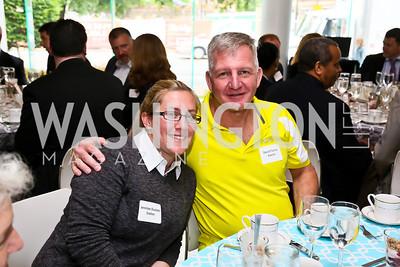 Exelon's Jennilee Duckett, David Tooma. Photo by Tony Powell. 2013 HRC Gala Corporate Sponsor Appreciation Breakfast. May 8, 2013