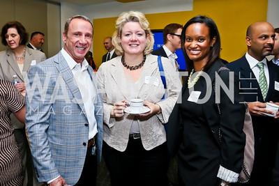 Randy Griffin, Joanna Todd, Kristine Friend. Photo by Tony Powell. 2013 HRC Gala Corporate Sponsor Appreciation Breakfast. May 8, 2013