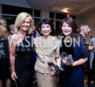 Marta Wilson, Brenda Blisk, Kellie Kim. Photo by Tony Powell. Heroines in Technology. Hilton McLean Tysons Corner. November 8, 2013