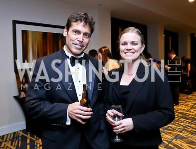 Joe Anderson, Tiffany Chudy. Photo by Tony Powell. Heroines in Technology. Hilton McLean Tysons Corner. November 8, 2013