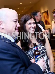 Donnie Herrity, Kathy Aitken. Photo by Tony Powell. Heroines in Technology. Hilton McLean Tysons Corner. November 8, 2013