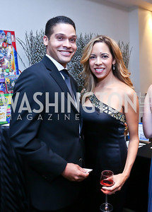 Brandon and Aliese Bowers. Photo by Tony Powell. Heroines in Technology. Hilton McLean Tysons Corner. November 8, 2013
