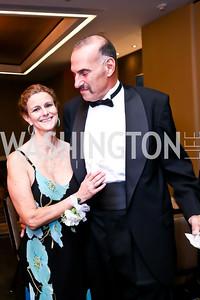 Deborah Brooks, Barney Shapiro. Photo by Tony Powell. Heroines in Technology. Hilton McLean Tysons Corner. November 8, 2013