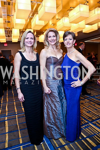 Gala Chairs Casey Coleman, Sabret Flocos, Becca Cowen-Hirsch. Photo by Tony Powell. Heroines in Technology. Hilton McLean Tysons Corner. November 8, 2013