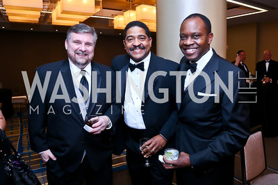John Demetreon, Corey Hill, Paul Engola. Photo by Tony Powell. Heroines in Technology. Hilton McLean Tysons Corner. November 8, 2013