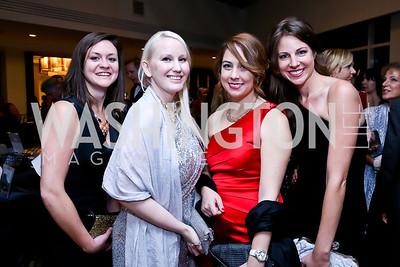 Sarah Kessler, Camille Tuutti, Colby Hochmuth, Radell Peischler. Photo by Tony Powell. Heroines in Technology. Hilton McLean Tysons Corner. November 8, 2013