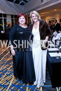 Dede Haskins, Dondi Saunders. Photo by Tony Powell. Heroines in Technology. Hilton McLean Tysons Corner. November 8, 2013