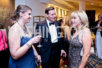 Jessica Burger, Greg Foscato, Denise Hart. Photo by Tony Powell. Heroines in Technology. Hilton McLean Tysons Corner. November 8, 2013