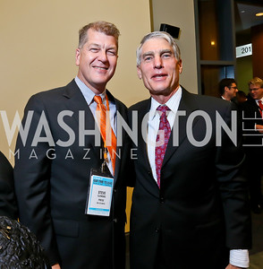 Steve Clemons, Sen. Mark Udall. Photo by Tony Powell. 2013 J Street Gala Dinner. Convention Center. September 30, 2013