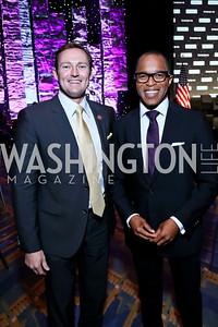 Rep. Patrick Murphy, Jonathan Capehart. Photo by Tony Powell. 2013 J Street Gala Dinner. Convention Center. September 30, 2013