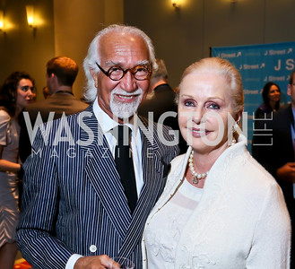 Dr. Ahmad and Judy Esfandiary. Photo by Tony Powell. 2013 J Street Gala Dinner. Convention Center. September 30, 2013