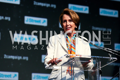 Leader Nancy Pelosi. Photo by Tony Powell. 2013 J Street Gala Dinner. Convention Center. September 30, 2013