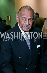 Rep. John Conyers. Photo by Tony Powell. 2013 J Street Gala Dinner. Convention Center. September 30, 2013