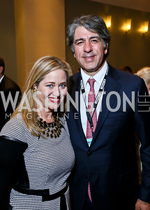 Nancy Reynolds Bagley and Soroush Shehabi. Photo by Tony Powell. 2013 J Street Gala Dinner. Convention Center. September 30, 2013