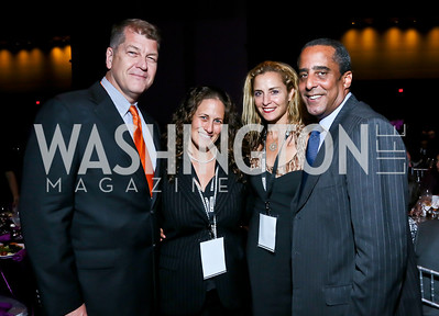 Steve Clemons, Julia Cohen, Ami Aronson, David Mercer. Photo by Tony Powell. 2013 J Street Gala Dinner. Convention Center. September 30, 2013