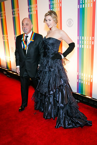 Billy Joel, Alexisis Roderick. Photo by Alfredo Flores. 2013 Kennedy Center Honors. Kennedy Center. December 8, 2013.